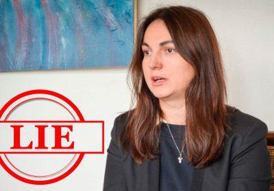 Народний депутат України Ганна Гопко